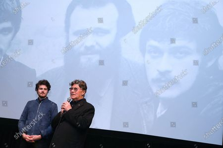 Daniel Roher (Director) and Robbie Robertson