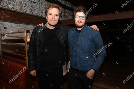Stock Picture of Michael Shannon and Daniel Roher (Director)