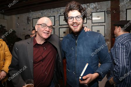 Stock Image of Eamonn Bowles (President; Magnolia Films) and Daniel Roher (Director)