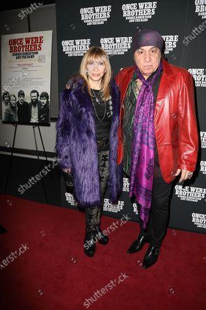 Stock Image of Maureen Van Zandt and Steven Van Zandt