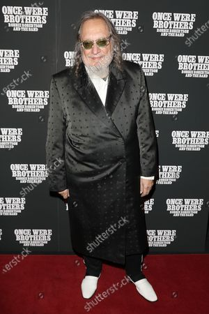 Editorial image of The New York Premiere of 'ONCE WERE BROTHERS: ROBBIE ROBERTSON AND THE BAND', USA - 11 Feb 2020