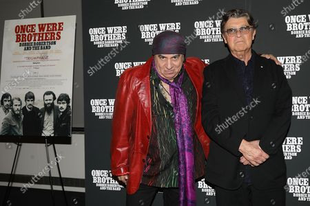Editorial picture of The New York Premiere of 'ONCE WERE BROTHERS: ROBBIE ROBERTSON AND THE BAND', USA - 11 Feb 2020