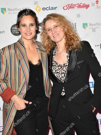 Julie De Bona and Isabelle Madelaine