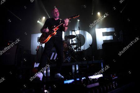 Editorial picture of Ride in concert at Hard Club, Porto, Portugal - 11 Feb 2020