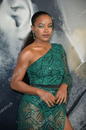 Editorial image of 'The Photograph' film premiere, Arrivals, New York, USA - 11 Feb 2020