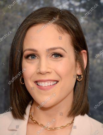 Stock Picture of Erin Krakow