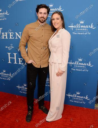 Chris McNally and Erin Krakow