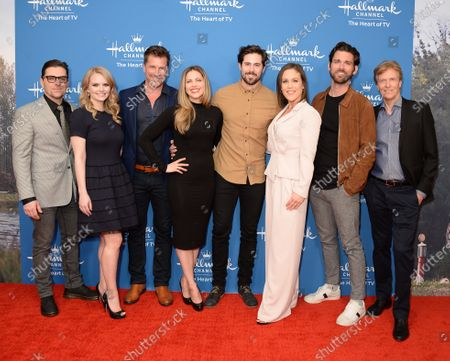 Kavan Smith, Andrea Brooks, Paul Greene, Pascale Hutton, Chris McNally, Erin Krakow, Kevin McGarry and Jack Wagner