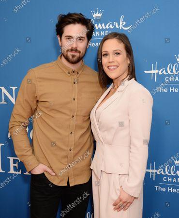Stock Image of Chris McNally and Erin Krakow