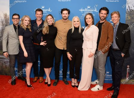 Kavan Smith, Andrea Brooks, Paul Greene, Pascale Hutton, Chris McNally, Michelle Vicary, Erin Krakow, Kevin McGarry and Jack Wagner
