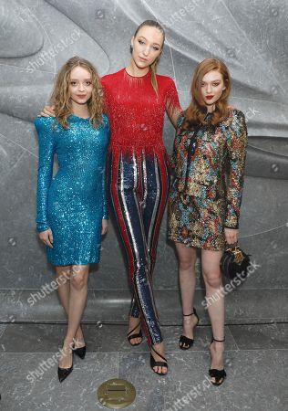 Madeleine Arthur, Ava Michelle and Larsen Thompson