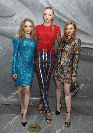 Stock Image of Madeleine Arthur, Ava Michelle and Larsen Thompson