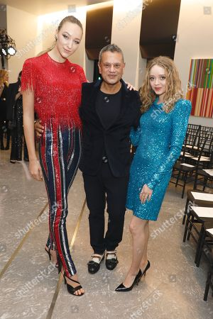 Editorial picture of Naeem Khan show, Front Row, Fall Winter 2020, New York Fashion Week, USA - 11 Feb 2020