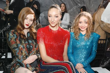 Larsen Thompson, Ava Michelle and Madeleine Arthur