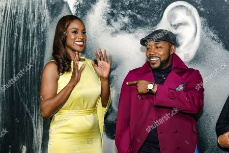 Issa Rae and Will Packer
