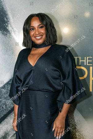 Editorial picture of 'The Photograph' film premiere, Arrivals, New York, USA - 11 Feb 2020