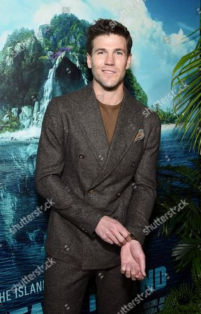 Austin Stowell at the Los Angeles premiere of Columbia Pictures' BLUMHOUSE'S FANTASY ISLAND.