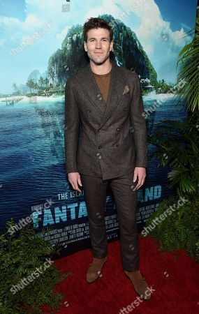 Austin Stowell at the Los Angeles premiere of Columbia Pictures BLUMHOUSE'S FANTASY ISLAND