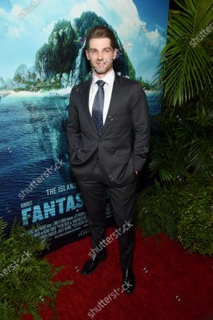 Mike Vogel at the Los Angeles premiere of Columbia Pictures BLUMHOUSE'S FANTASY ISLAND