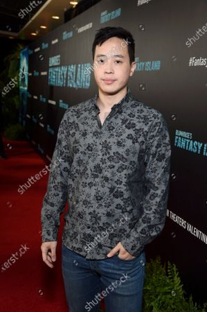 Stock Photo of Hayden Szeto at the Los Angeles premiere of Columbia Pictures' BLUMHOUSE'S FANTASY ISLAND.