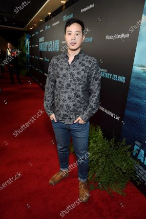 Hayden Szeto at the Los Angeles premiere of Columbia Pictures BLUMHOUSE'S FANTASY ISLAND
