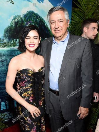 Editorial picture of Los Angeles premiere of Columbia Pictures BLUMHOUSE'S FANTASY ISLAND, AMC Century Center 15, Los Angeles, USA - 11 Feb 2020