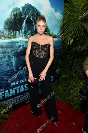 Charlotte McKinney at the Los Angeles premiere of Columbia Pictures BLUMHOUSE'S FANTASY ISLAND