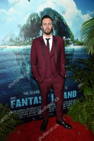 Stock Photo of Christopher Roach, Writer, at the Los Angeles premiere of Columbia Pictures BLUMHOUSE'S FANTASY ISLAND