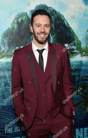 Christopher Roach, Writer, at the Los Angeles premiere of Columbia Pictures BLUMHOUSE'S FANTASY ISLAND