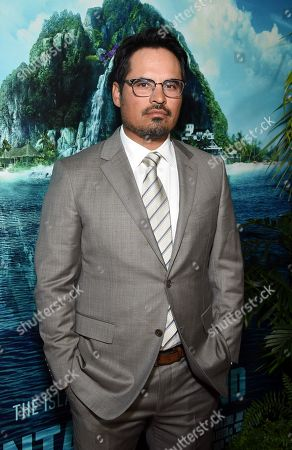 Michael Pena at the Los Angeles premiere of Columbia Pictures BLUMHOUSE'S FANTASY ISLAND