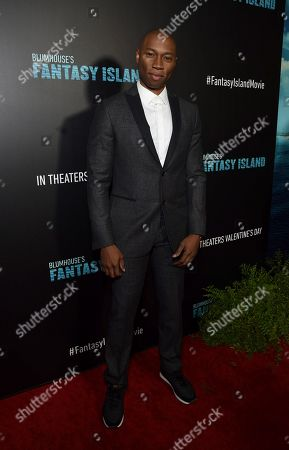 Stock Photo of Robbie Jones at the Los Angeles premiere of Columbia Pictures BLUMHOUSE'S FANTASY ISLAND