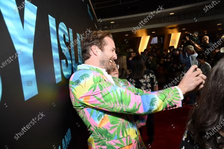Ryan Hansen and Jimmy O. Yang at the Los Angeles premiere of Columbia Pictures BLUMHOUSE'S FANTASY ISLAND