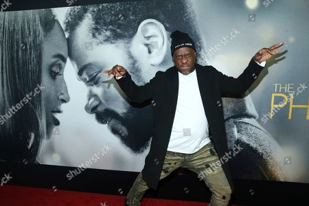 "Stock Image of Robert Glasper attends the world premiere of ""The Photograph"" at the SVA Theatre, in New York"