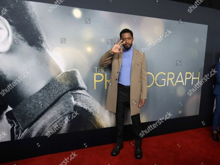 """LaKeith Stanfield attends the world premiere of """"The Photograph"""" at the SVA Theatre, in New York"""