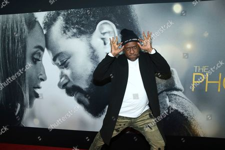 "Robert Glasper attends the world premiere of ""The Photograph"" at the SVA Theatre, in New York"