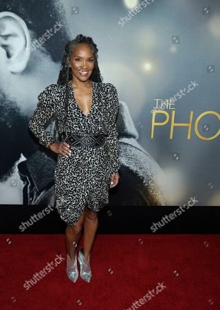 """Editorial picture of World Premiere of """"The Photograph"""", New York, USA - 11 Feb 2020"""