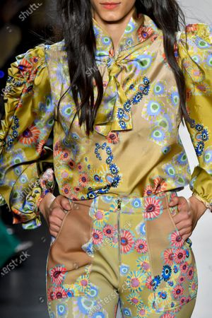 Editorial picture of Cynthia Rowley show, Detail, Fall Winter 2020, New York Fashion Week, USA - 11 Feb 2020