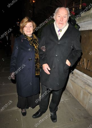 Stock Photo of Prunella Scales and Timothy West