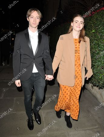 Stock Picture of James Tarpey and Daisy Waterstone