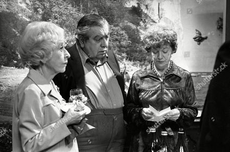 Ep 2319 Wednesday 22nd June 1983  Mrs Lowther gives Hilda some leftovers from a party so Hilda decides to throw an inheritance party. Hilda enjoys entertaining her guests, but the party goes slightly awry when her carpet man and bathroom salesman call during the party. With Hilda Ogden, as played by Jean Alexander ; Stan Ogden, as played by Bernard Youens ; Annie Walker, as played by Doris Speed.