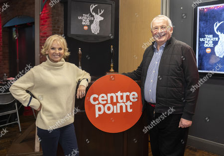 Stock Photo of Lisa Maxwell and Christopher Biggins