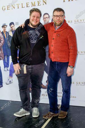 Dennis Brammen and Guy Ritchie