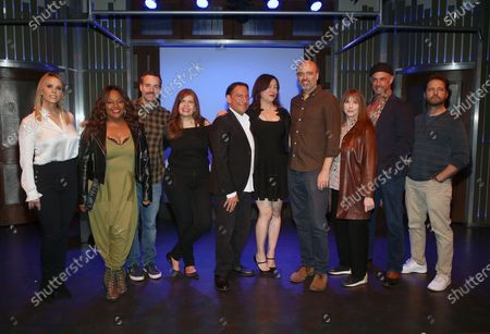 Stock Photo of Cheryl Hines, Sherri Shepherd, Will Forte, Eugene Pack, Jennifer Tilly, Scott Adsit, Laraine Newman, Christopher Meloni, Jason Priestley, Dayle Reyfel