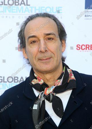 Stock Picture of Alexandre Desplat