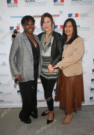 Jacqueline Lyanga, Camilla Cormanni, Jasmine Jaisinghani