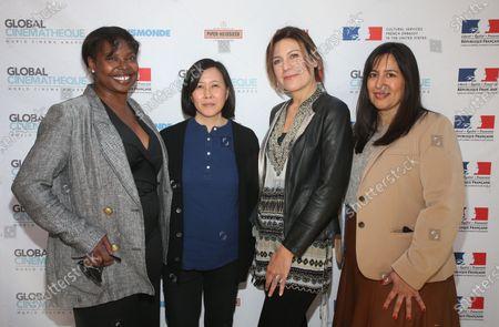 Jacqueline Lyanga, Kim Yutani, Camilla Cormanni, Jasmine Jaisinghani