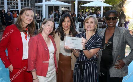 Lucie Carette, La Consule Générale interim Nathalie Soirat, Serge Toubiana, Daniela Elstner, Jacqueline Lyanga, Jasmine Jaisinghani