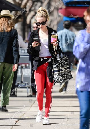 Editorial photo of Alessandra Torresani out and about, Los Angeles, USA - 11 Feb 2020