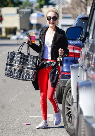 Editorial image of Alessandra Torresani out and about, Los Angeles, USA - 11 Feb 2020