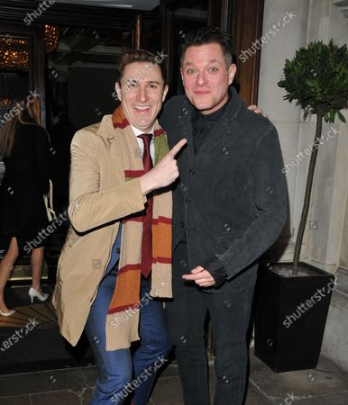 Stock Picture of Tom Rosenthal and Mathew Horne